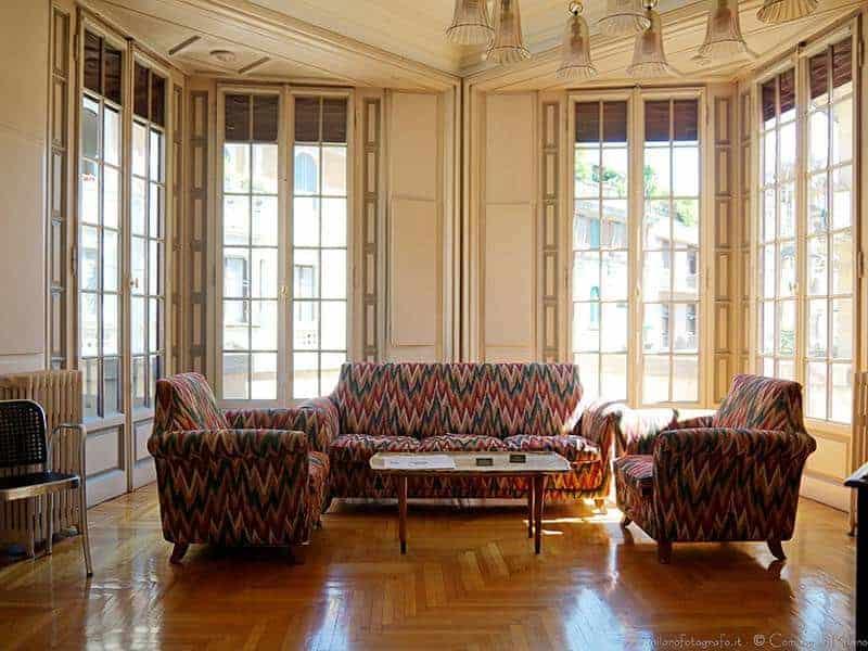 Living Room - Boschi di Stefano House Musem