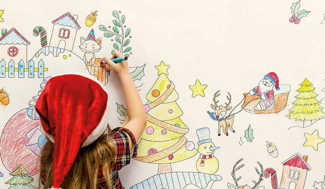 Aspetta il Natale a Villa Necchi. Toc Toc: chi entra gioca.